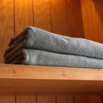 towel in hotel