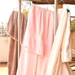 Towels to dry on a clothesline