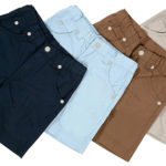 Short pants isolated with clipping path